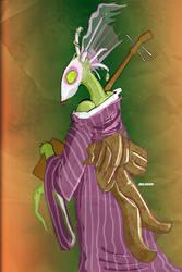 Insect Geisha by glittergodzilla