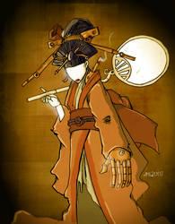 Steam Geisha by glittergodzilla