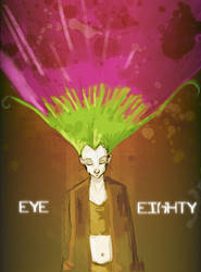 Eye-Eighty- Kafka in thought - by glittergodzilla