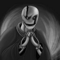 Dr Gaster by dragonfire1000