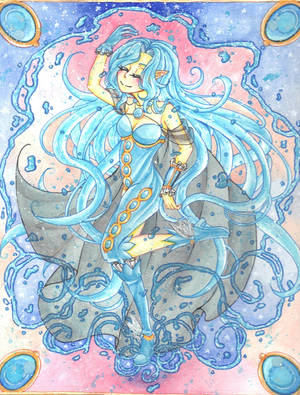 CE: Velleda: Water Maiden by gezusgeek