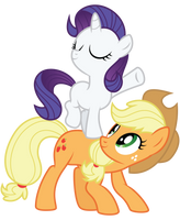 AJ and Filly Rarity by Midnight--Blitz