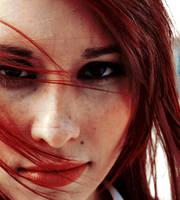 Sarah's Red Hair by saadfm