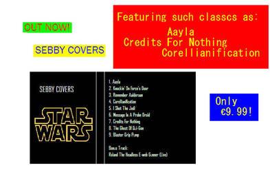 Sebby Covers Star Wars by tyrannusBE