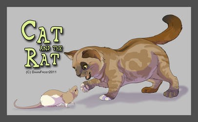 Cat and the Rat by DawnFrost