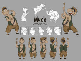 much character sheet by DawnFrost