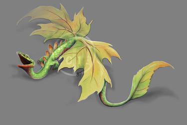 Leaf Drag by DawnFrost