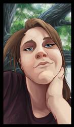 Self portrait by DawnFrost