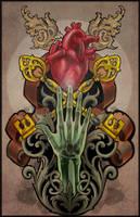 nouveau school tattoo design 2 by mojoncio
