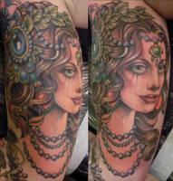 persephone tattoo by mojoncio