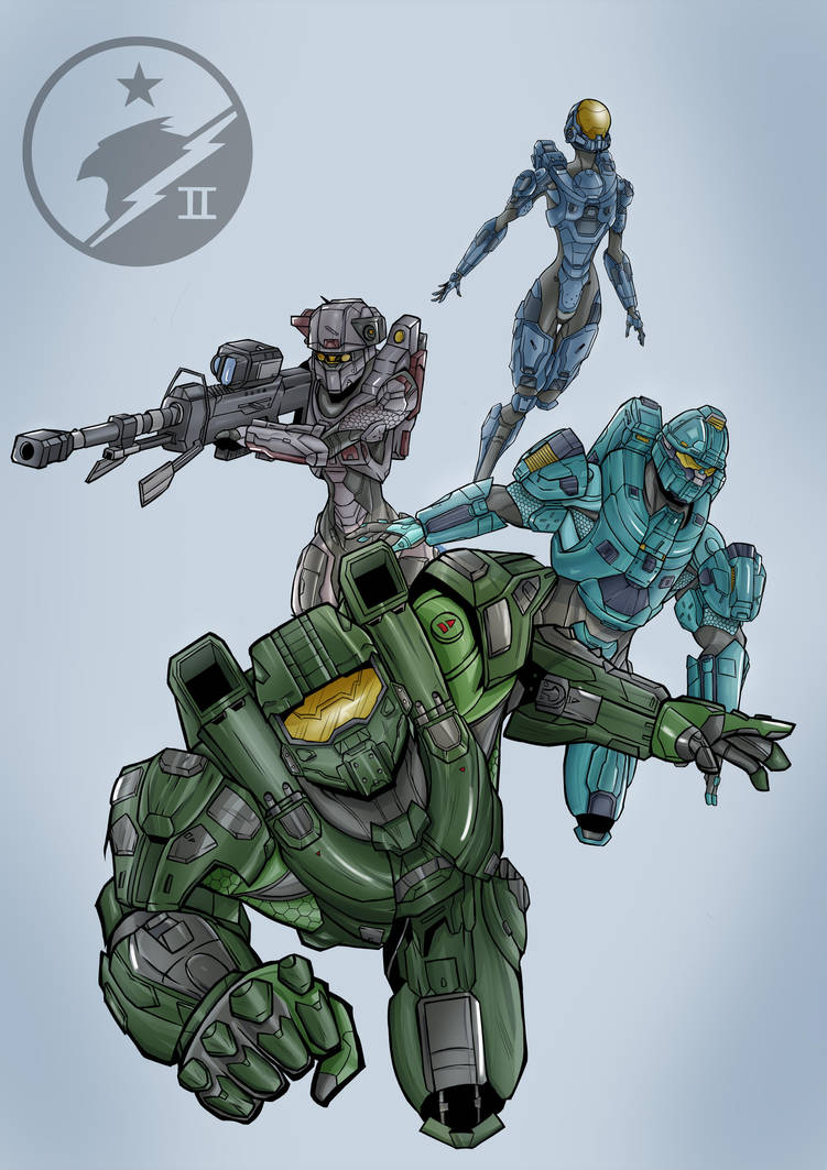 Blue Team by Huctus117