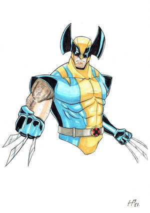 [COMMISSION] Wolverine by Huctus117