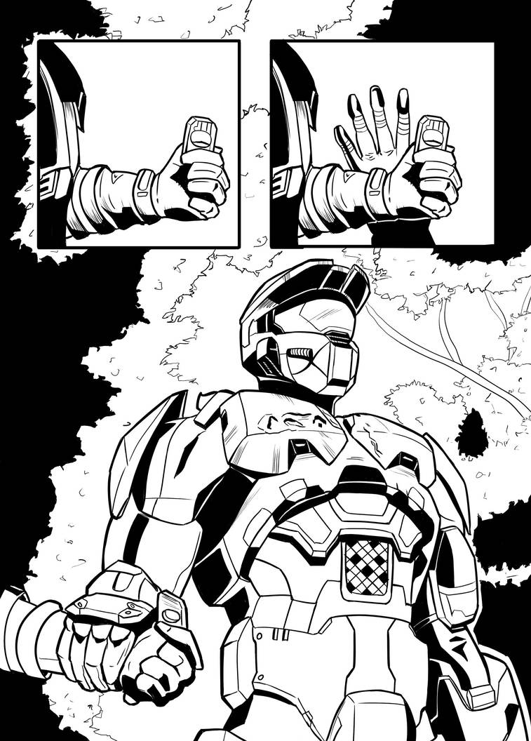 Halo 3 Practice Page 5 by Huctus117