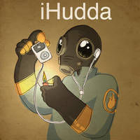 TF2: iHudda by Artemekiia