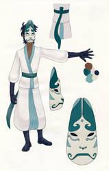 Wolf Character Sheet by Artemekiia
