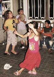 Dancing Children by lakhmu