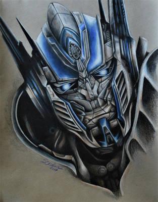 Portrait of a Prime by vermilionbirdy