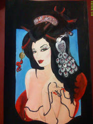 La Sangre de la Geisha II by x-Bonecrusher