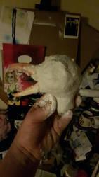 not finished seagull  by Scyndy
