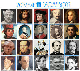20 Most Handsome Boys - NuitsdeYoung by NuitsdeYoung