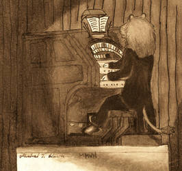 Local Lion Plays Wurlitzer by HammondsNTrains