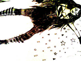 femme etoiles by Distorrrted