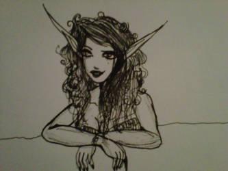 Miss Night Elf by Distorrrted