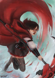 Ruby Rose by ISzopI