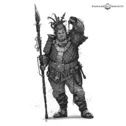 Necromunda Character #1 by Art--Tool