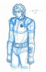 Daily Sketch - Bob by OspreySoul