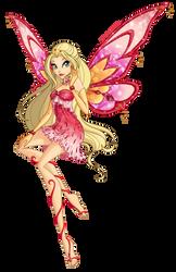 Commission-03-Garnet-Enchantix by LadyUraniya
