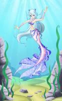 Amiry-mermaid - Gift by LadyUraniya