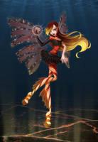 Roxana-Dark-Sirenix (redrawing) by LadyUraniya