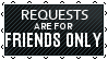 Black Lace Requests - FRIENDS ONLY by iDaphodil
