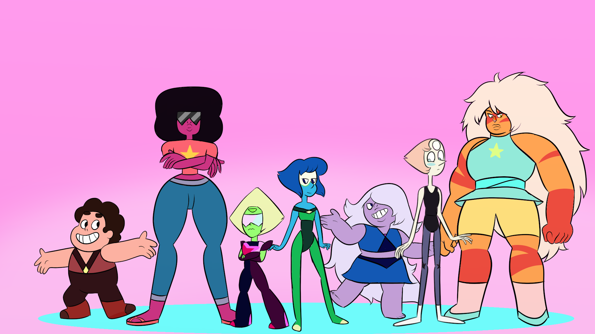 Steven Universe Gems Clothes-swap By Megacoll51 On DeviantArt