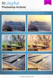 Joyful Photoshop Actions by Wnison