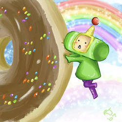 Katamari loev donuts by CaptainBunBun