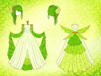 Elf Dress Design by Eranthe