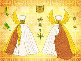 God Adelheid Dress Design by Eranthe