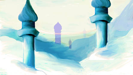 Land of Mist and Spires by Death-by-Clarinet