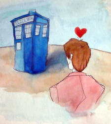 Doctor Who - His Old Girl by Death-by-Clarinet