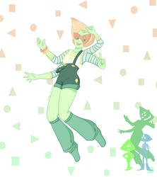 Young Pearl and Peri Fusion by MangoBunnies