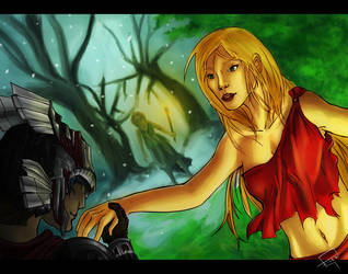 Gallant Kidnapping of Persephone by Tahlsou