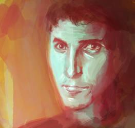 Christian Bale Portrait by Tahlsou