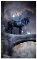 The Black Unicorn by LostSoulsArt