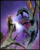 Drachenlied by LostSoulsArt
