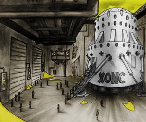 Lander V In Dock by AriBach