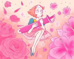 Pink Diamond's Pearl by jmemdrawings