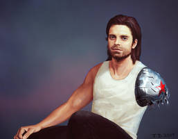 Bucky Barnes Post Civil War by the-physicist