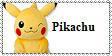 Pikachu Plush Stamp by KandyPrower